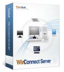 Program WinConnect Server - serwer terminali  dla  Windows XP/Vista